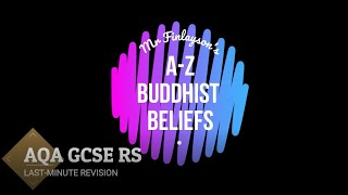 GCSE RS A-Z من المعتقدات البوذية (تنقيح)