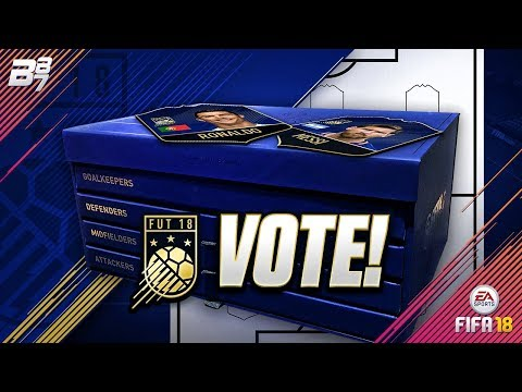 VOTE FOR TEAM OF THE YEAR (TOTY) HERE! #TOTYVOTE   FIFA 18 ULTIMATE TEAM