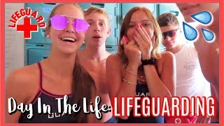 Day in the Life: As a LIFEGUARD vlog!