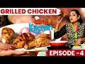 Uma's kitchenquick grilled chicken recipe ep-4 uma riyaz cineulagam