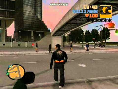 GTA 3 Ultimate Trainer-Sample Cheats-