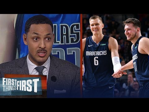 Luka & Porzingis are dangerous, talks Zion health concerns — Ryan Hollins | NBA | FIRST THINGS FIRST
