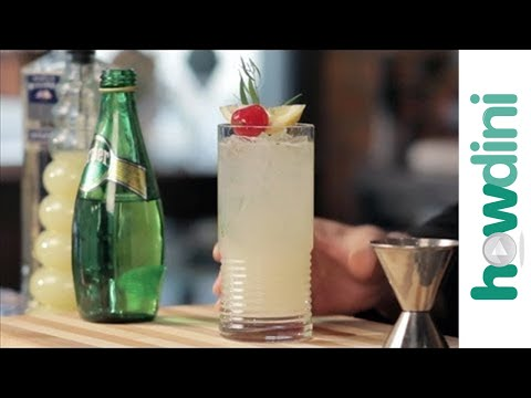 How to make gin with house-made bitter lemon and soda