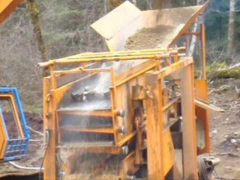 Gold Mining Equipment Operating