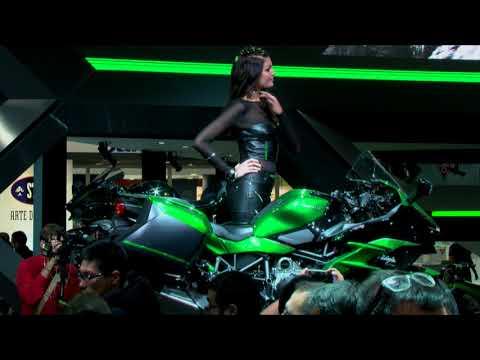 Official Unveiling of the Kawasaki Ninja H2 SX at EICMA 2017