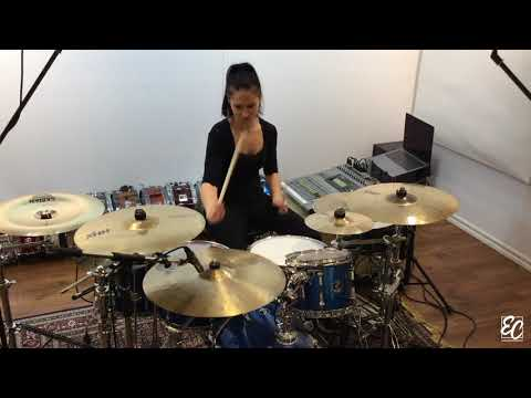 Emmanuelle Caplette: Drum Solo of Against The Current by EC/