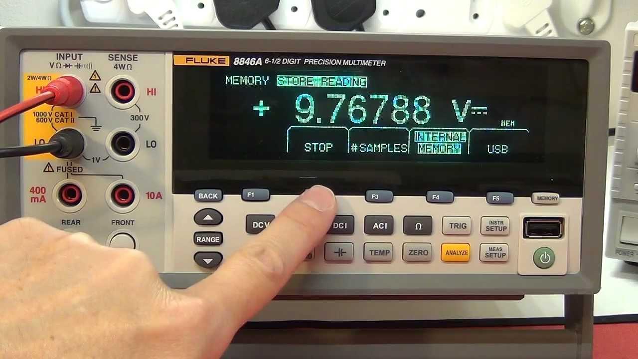 multimeter review buyers guide fluke 8846a 8845a 6 5 digit rh youtube com fluke ti 45 user manual Fluke 787 User Manual