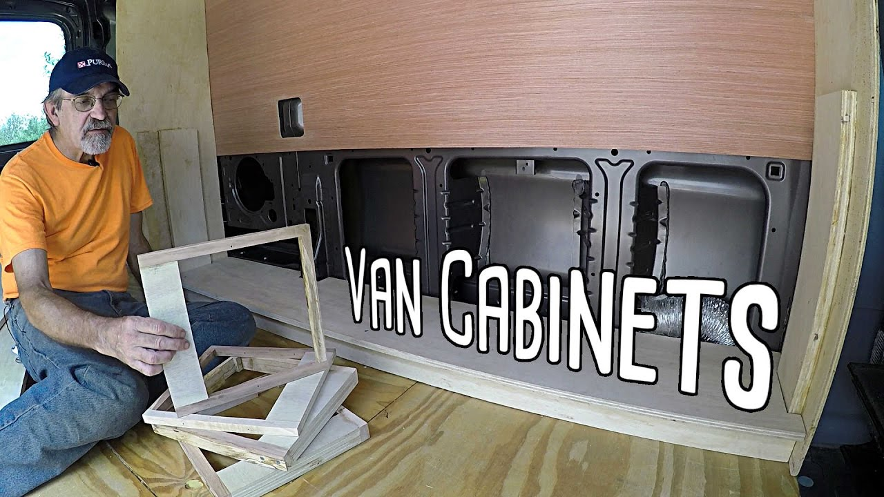 Cargo Van Conversion Murphy Bed Frame Part Six Youtube