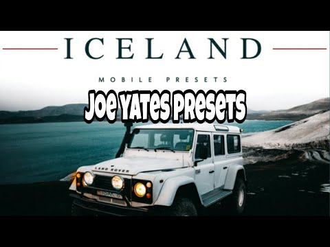 Joe Yates Iceland Preset pack free download| @josephyates presets free| visualsofsolobagchi
