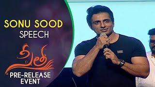 Sonu Sood Speech @ Sita Movie Pre Release Event   Teja   Sai Srinivas Bellamkonda, Kajal Aggarwal
