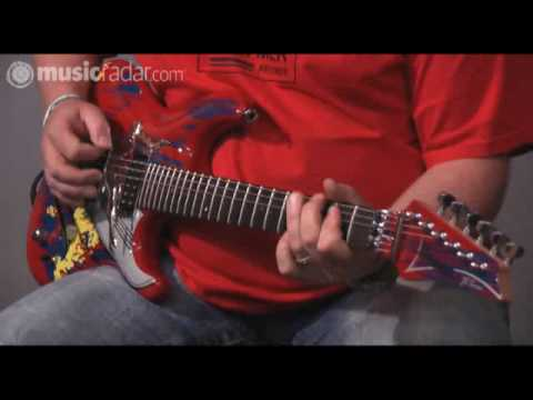 Ibanez Joe Satriani JS20TH demo