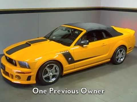 Pre Owned Lexus >> EXTREMELY RARE! 2007 Roush 427R Mustang GT Convertible Available at Lexus of Richmond - YouTube