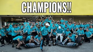 MERCEDES RECORD CHAMPIONSHIPS EXPLAINED!! | JAPANESE GP RACE ANALYSIS