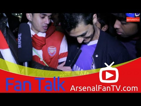 Arsenal FC 0 Chelsea 2 - Chelsea Fan Exposed during Interview - ArsenalFanTV.com