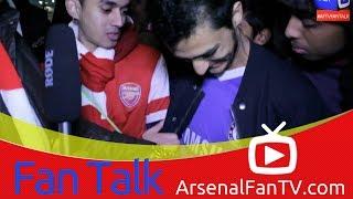 Arsenal FC 0 Chelsea 2 - Chelsea Fan Exposed during Interview - ArsenalFanTV.com