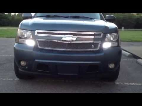 Hid Headlights 08 Avalanche Led Bulbs Youtube