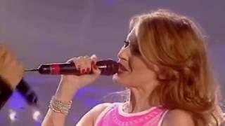 Kylie Minogue & Ricky Martin - Livin' La Vida Loca (An Audience With Ricky Martin 2000)