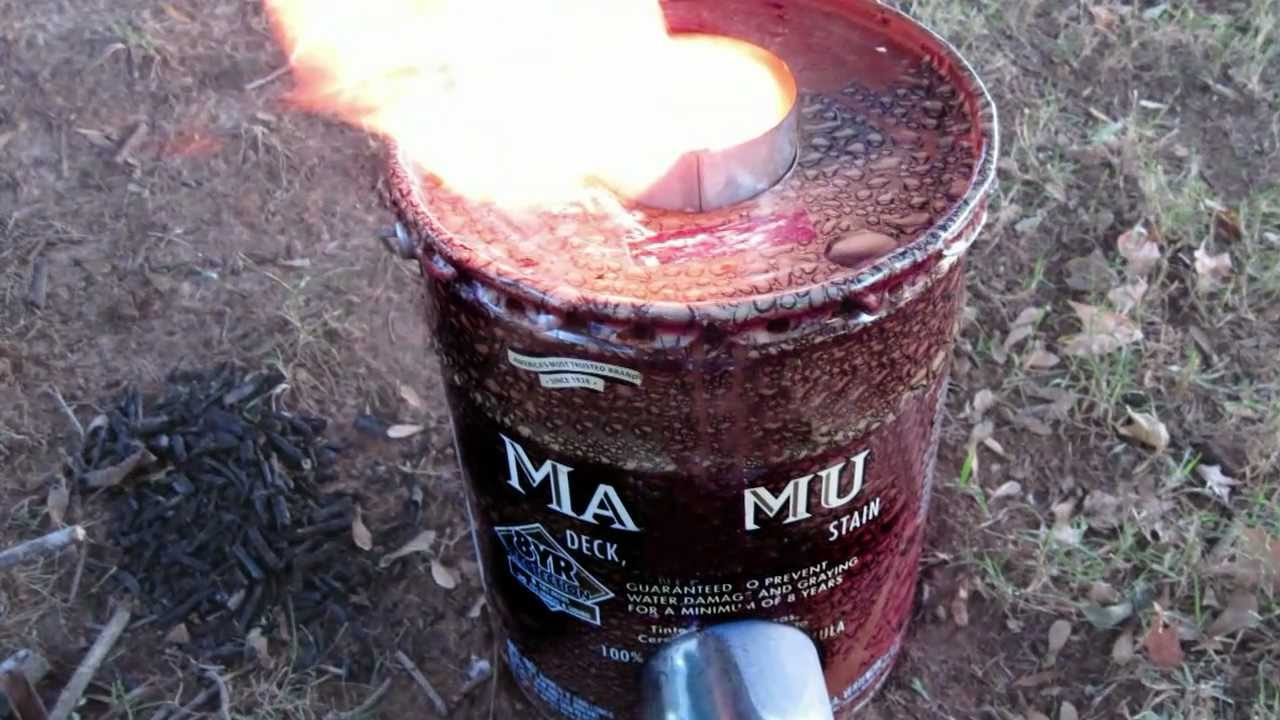 5 Gallon Rocket Stove Youtube