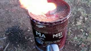 5 Gallon Rocket Stove
