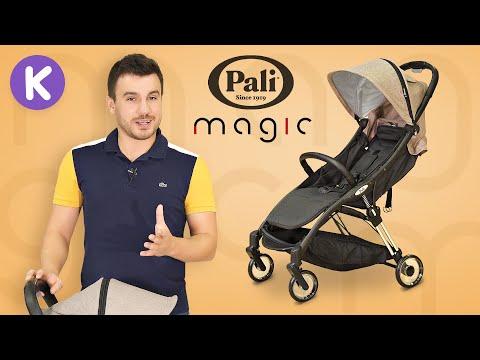 Коляска для путешествий Pali Magic. Легкая прогулочная коляска, ручная кладь в самолет.