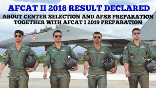#AIRFORCE AFCAT II 2018 RESULT DECLARED 100% SELECTION FOR UPCOMING AFCAT EXAMS  #SATYARTH