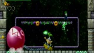 New Super Mario Bros. Wii Iggy Koopa Battle (Castle)