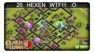 20 HEXEN WTF!!! :O || CLASH OF CLANS | Let's Play CoC | Deutsch | German