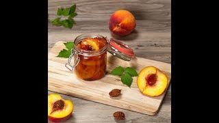 Варенье из персиков. Варенье-пятиминутка из персиков