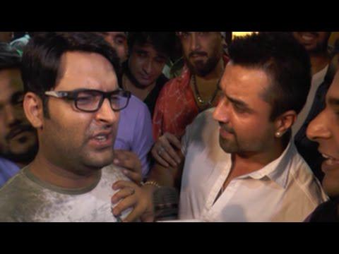 Kapil Sharma & Ajaz Khan FIGHT in PUBLIC  ...
