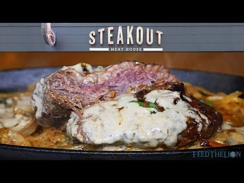 𝑺𝑨𝑽𝑶𝑼𝑹 𝑻𝑯𝑬 𝑭𝑳𝑨𝑽𝑶𝑼𝑹 At Steakout - Halal & HMC-certified Branches Across The UK