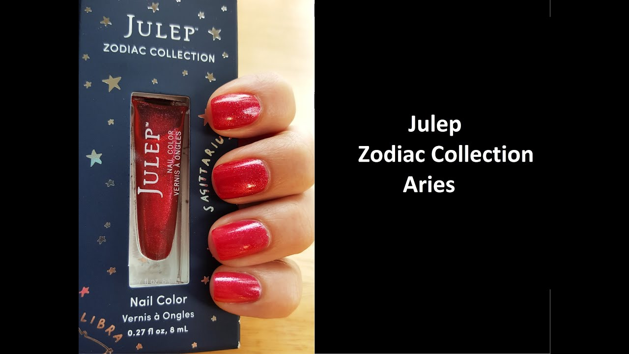 New Julep The Zodiac Collection: Aries - YouTube