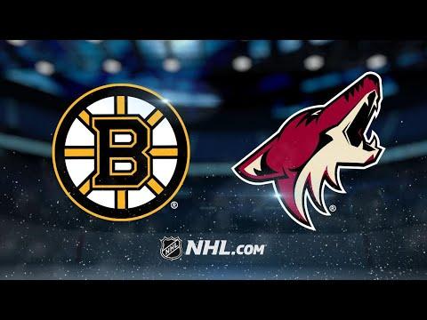 Chara, Khudobin propel Bruins to 6-2 victory