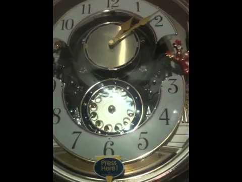 Beatles tune clock 1 of 2 unidentified tunes.