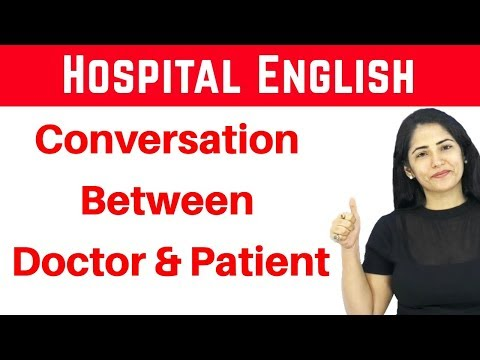 Hospital English I Conversation Between Doctor And Patient I Daily Life English