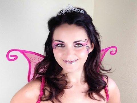 maquillaje disfraz de hada