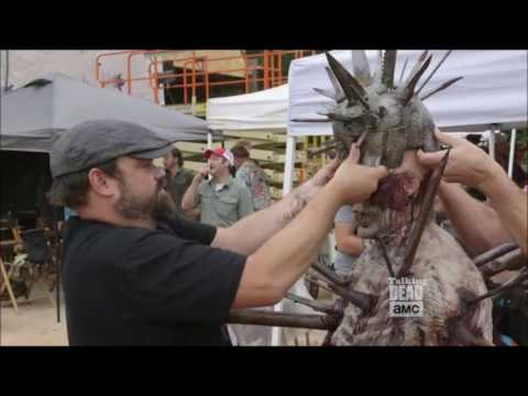 Talking Dead - Creating the spiked walker (Winslow)