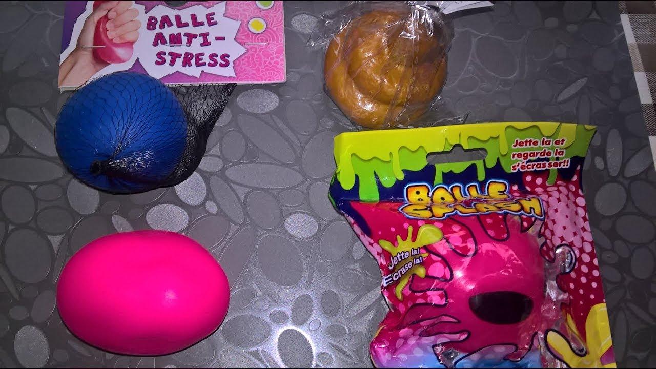 Test De Nouvelles Balles Anti Stress