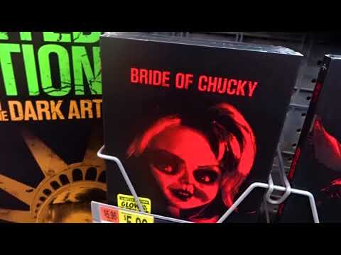 NEW 2017 Walmart GLOW IN THE DARK Horror Movie DVD Covers