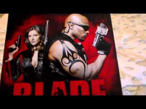 Blade The series DVD.