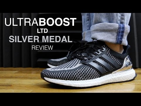 ULTRA BOOST LTD METALLIC OLYMPIC SILVER MEDAL REVIEW