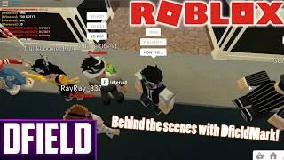 Behind the scenes with DfieldMark (Premium Escape Hotel Tour) | ROBLOX Bloxburg