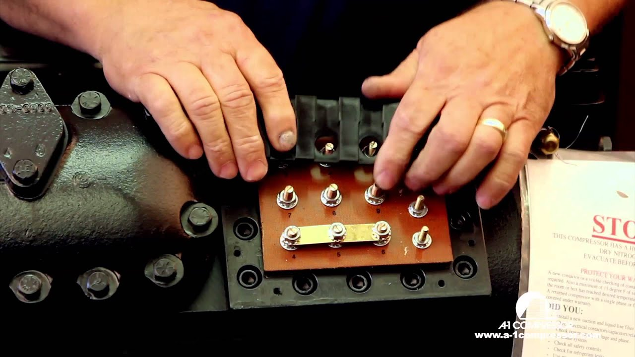 wiring a copeland compressor [ 1280 x 720 Pixel ]