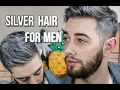 How to get Silver Hair without Hair Dye