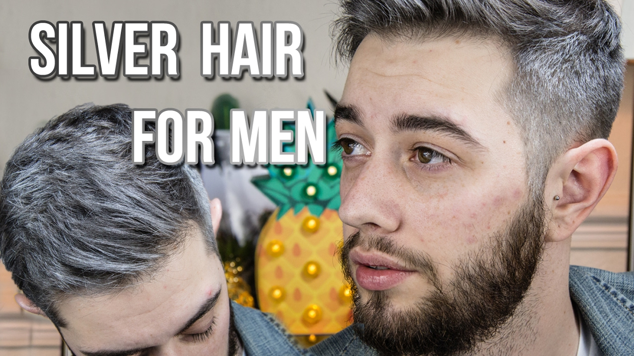 How To Get Silver Hair Without Hair Dye YouTube