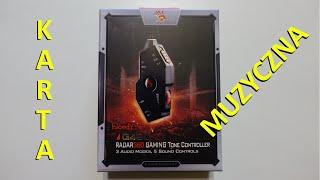 (nie)unboxing #2 - karta dźwiękowa A4TECH Bloody Gaming G480 usb