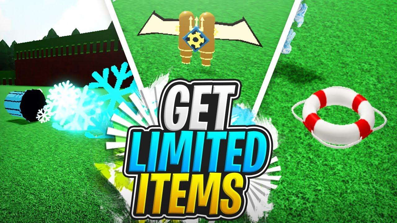 EASILY GET LIMITED ITEMS FROM PLAYERS!!!!! - Build a Boat For Treasure