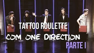 Tattoo Roulette com One Direction - The Late Late show - Legendado - PT/BR [Parte 1]