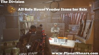 The Division Items For Sale | Pwner