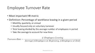 understanding measuring and controlling employee turnover Controlling absenteeism in do so because of a lack of understanding relating to employees and and voluntary turnover employees are dissatisfied.