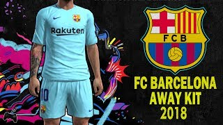 Pes2013 || fc barcelona • away kit 2018
